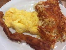 вскарабканное яичко завтрака Стоковое Фото