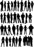 вскользь люди Стоковая Фотография