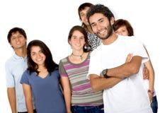 вскользь люди группы Стоковая Фотография RF