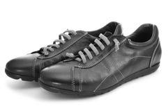 Вскользь ботинки для человека Стоковые Фото