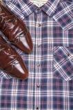 Вскользь ботинок классики ведьмы рубашки стоковые изображения rf