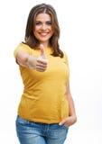 вскользь детеныши женщины Стоковое Изображение RF