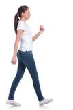 Вскользь идти женщины Стоковые Фотографии RF