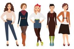 Вскользь мода для женщины бесплатная иллюстрация