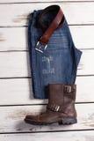 Вскользь носка стильного человека Стоковое Фото