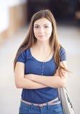Вскользь студент средней школы Стоковая Фотография