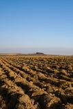 вспаханная почва Стоковое фото RF