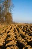 вспаханная почва Стоковая Фотография RF