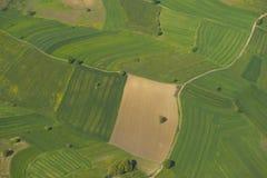 Вспаханная ферма Стоковые Фотографии RF