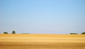 вспаханное поле Стоковое Фото