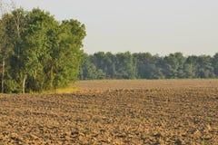 Вспаханное поле Стоковые Изображения RF