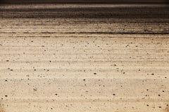 Вспаханный аграрный край стоковое изображение rf