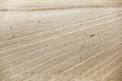 Вспаханный аграрный край стоковое фото rf