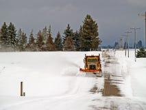вспахивающ дорогу сельскую стоковое фото rf