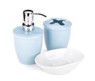 Вспомогательное оборудование ванной комнаты Стоковое фото RF
