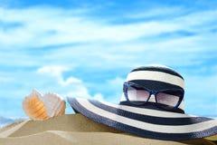 Вспомогательное оборудование пляжа Стоковые Фотографии RF