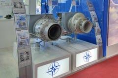 Вспомогательные двигатели газовой турбины стоковая фотография rf