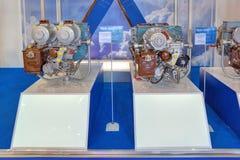 Вспомогательные воздушные судн двигател-перетаскивания газовой турбины стоковое изображение rf