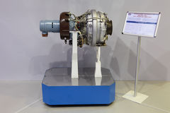 Вспомогательный двигатель газовой турбины стоковые фото