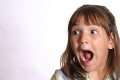 вспугнутый ребенок стоковая фотография rf
