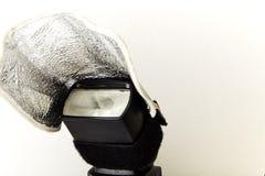 вспышка оборудования освещения студии Стоковое Фото