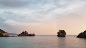 Вспышка радуги стоковая фотография rf