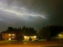 Вспышки молнии Стоковое Изображение