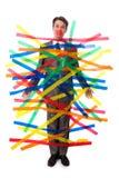 вставленный человек Стоковая Фотография RF