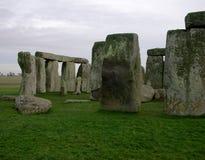 встает на сторону stonehenge Стоковые Фото