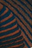 2-встали на сторону ребристый связанный шарф Стоковые Фото