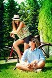 Встретьте вашу влюбленность Стоковое Изображение RF