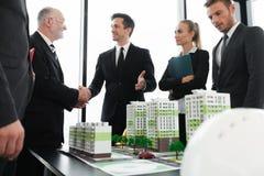 Встреча архитекторов и инвесторов Стоковое Изображение RF