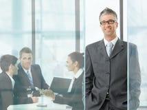 встреча бизнесмена Стоковое фото RF