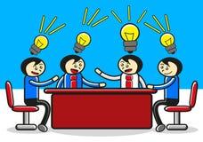 встреча бизнесмена бесплатная иллюстрация