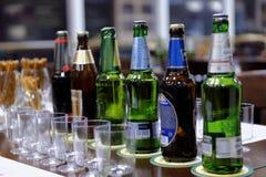 Встреча дегустации на винзаводе Baltika - Санкт-Петербурга Стоковые Изображения RF