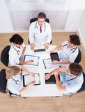 Встреча докторов Стоковое Изображение RF