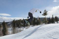 Встреча снега, Beaver Creek, Eagle County, Колорадо Стоковые Фото