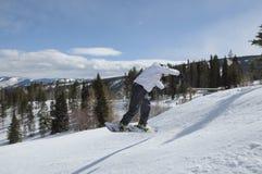 Встреча 2 снега, Beaver Creek, Eagle County, Колорадо Стоковая Фотография RF