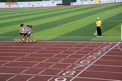 Встреча спортов, игры ботинка доски Стоковое Фото