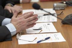 встреча стола Стоковое Изображение RF