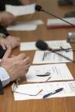 встреча стола Стоковая Фотография