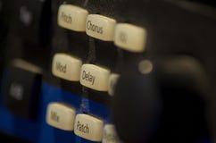 Встреча съемки к аудио приборам стоковое изображение