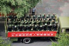 Встреча Urumqi воинская о Анти--терроризме Стоковые Изображения RF