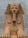 Встреченное Нью-Йорка - египетский артефакт сфинкса Стоковое Фото