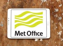 Встреченный логотип обслуживания погоды офиса Стоковая Фотография RF