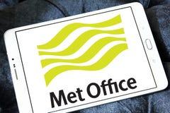 Встреченный логотип обслуживания погоды офиса Стоковая Фотография