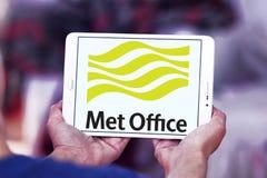 Встреченный логотип обслуживания погоды офиса Стоковые Изображения RF