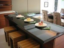 встречная кухня стоковая фотография