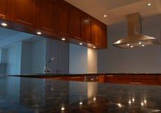 встречная причудливая кухня Стоковые Фотографии RF