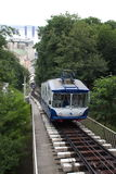 встрещенный переход поезда станции урбанский стоковые фотографии rf